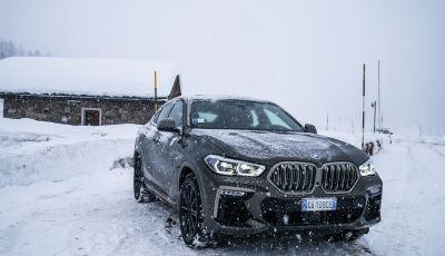 [VIDEO] Il test della nuova BMW X6 2020 sulla neve di Livigno