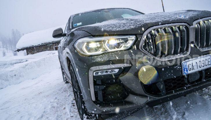 [VIDEO] Il test della nuova BMW X6 2020 sulla neve di Livigno - Foto 5 di 25