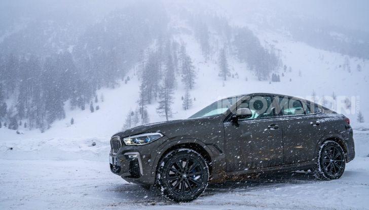 [VIDEO] Il test della nuova BMW X6 2020 sulla neve di Livigno - Foto 4 di 25