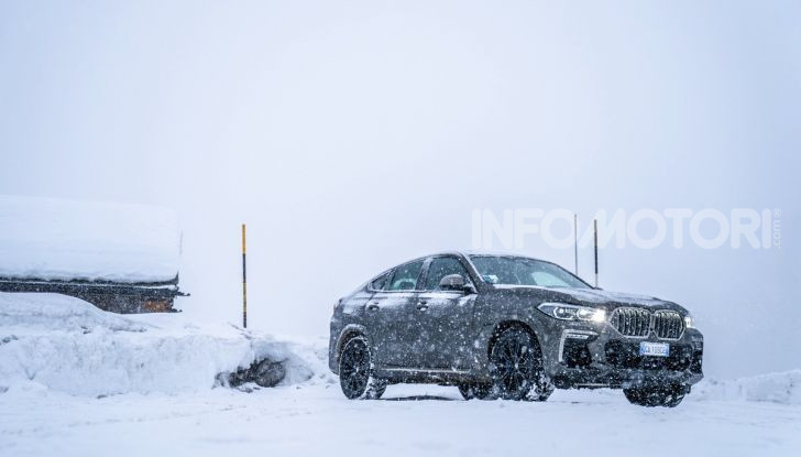 [VIDEO] Il test della nuova BMW X6 2020 sulla neve di Livigno - Foto 8 di 25