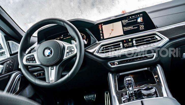 [VIDEO] Il test della nuova BMW X6 2020 sulla neve di Livigno - Foto 22 di 25