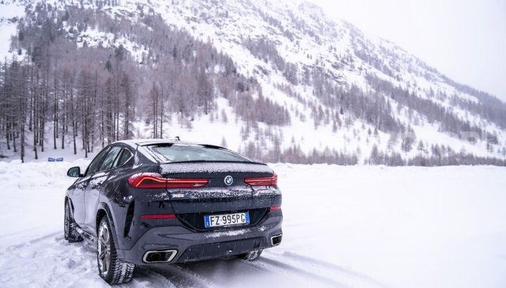 [VIDEO] Il test della nuova BMW X6 2020 sulla neve di Livigno - Foto 19 di 25