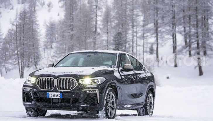 [VIDEO] Il test della nuova BMW X6 2020 sulla neve di Livigno - Foto 17 di 25