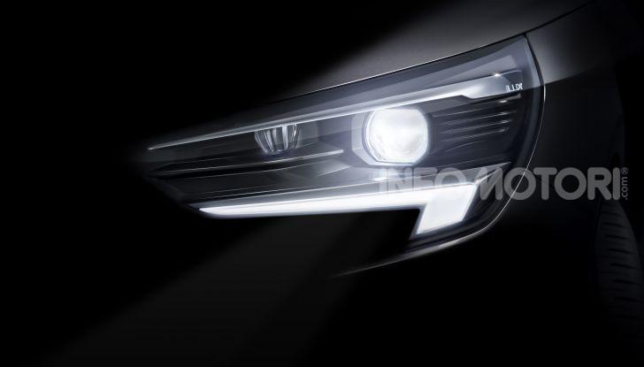 Nuova Opel Corsa, provati su strada i nuovi fari IntelliLux LED matrix - Foto 2 di 9