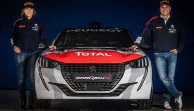 Andreucci-Andreussi, una coppia d'oro per il debutto della Peugeot 208 Rally 4