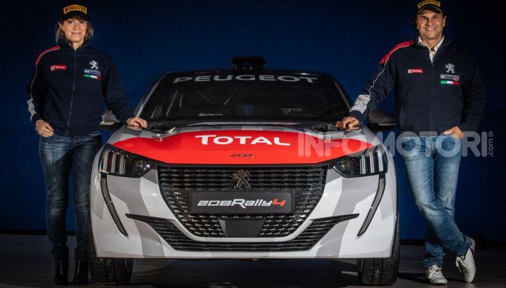 Andreucci-Andreussi, una coppia d'oro per il debutto della Peugeot 208 Rally 4 - Foto 6 di 7
