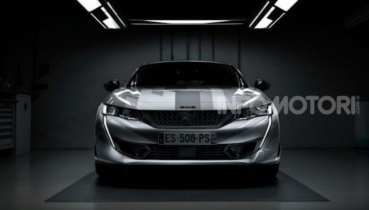 Peugeot 508 SPE, la nuova sportiva e ibrida plug-in francese - Foto 1 di 5