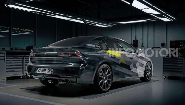 Peugeot 508 SPE, la nuova sportiva e ibrida plug-in francese - Foto 3 di 5