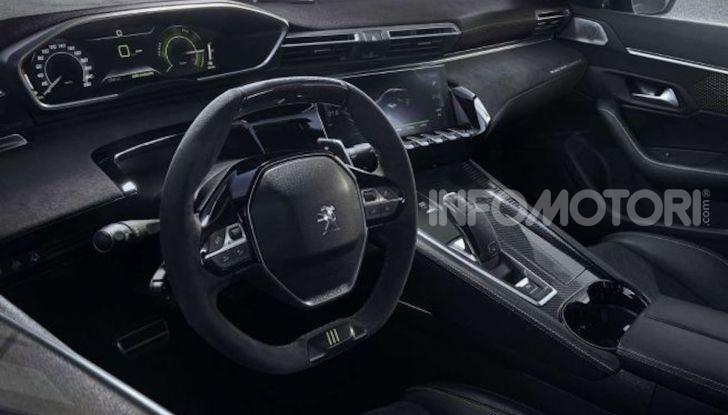 Peugeot 508 SPE, la nuova sportiva e ibrida plug-in francese - Foto 5 di 5