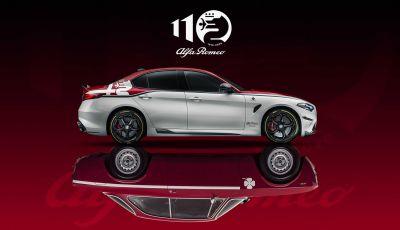 Alfa Romeo: presentato il nuovo logo per i 110 anni di storia della Casa di Arese
