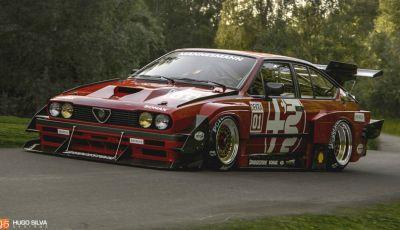 Alfa Romeo GTV6: Hugo Silva estremizza la sportiva del Biscione