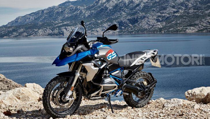 BMW R 1200 GS mare salsedine