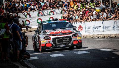 Citroen vince il Titolo Costruttori nel Campionato Italiano Rally 2019