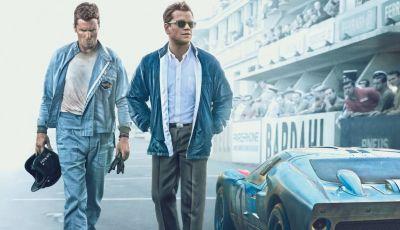 Le Mans '66: la Grande Sfida tra Ford e Ferrari premiata agli Oscar 2020