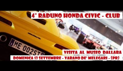 4° Raduno HONDA CIVIC – CLUB