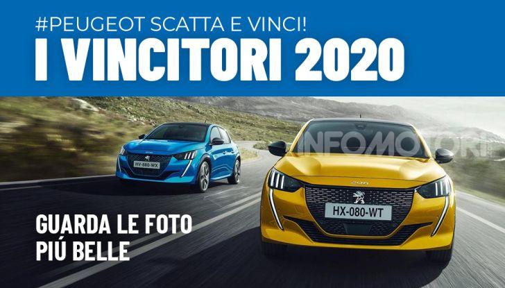 """Tutti i vincitori del nostro contest """"Scatta e Vinci con Peugeot"""" - Foto 1 di 4"""
