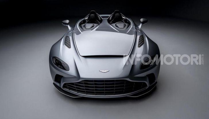 Aston Martin V12 Speedster: ispirata ai caccia - Foto 1 di 12