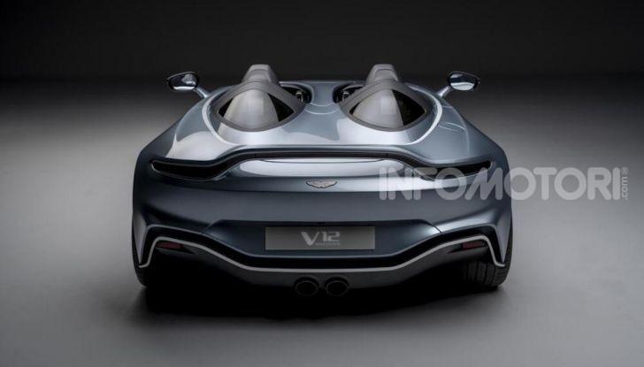 Aston Martin V12 Speedster: ispirata ai caccia - Foto 11 di 12