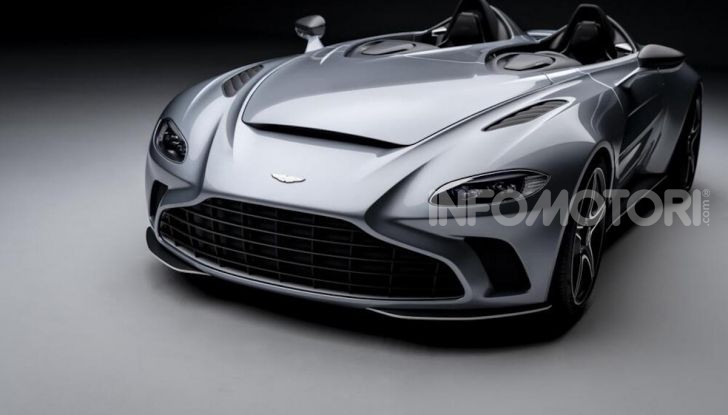 Aston Martin V12 Speedster: ispirata ai caccia - Foto 3 di 12