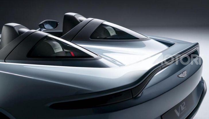 Aston Martin V12 Speedster: ispirata ai caccia - Foto 9 di 12