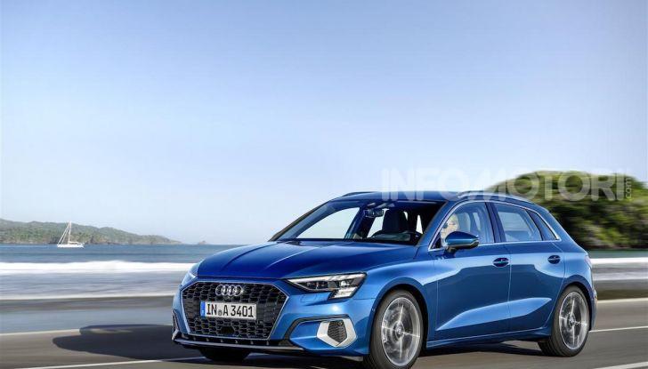 Audi A3 Sportback MY 2020: la compatta tedesca si rinnova ancora - Foto 1 di 8