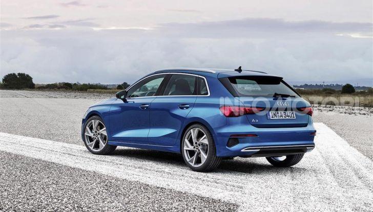 Audi A3 Sportback MY 2020: la compatta tedesca si rinnova ancora - Foto 3 di 8