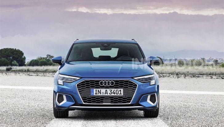 Audi A3 Sportback MY 2020: la compatta tedesca si rinnova ancora - Foto 4 di 8