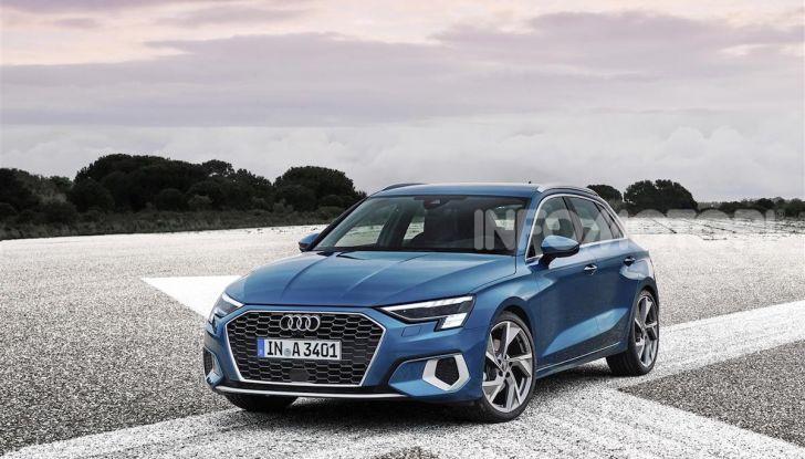 Audi A3 Sportback MY 2020: la compatta tedesca si rinnova ancora - Foto 5 di 8