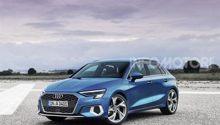 Audi A3 Sportback MY 2020: la compatta tedesca si rinnova ancora - Foto 6 di 8