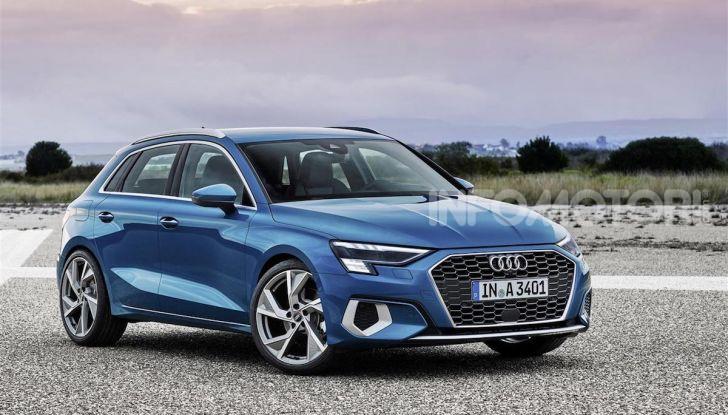 Audi A3 Sportback MY 2020: la compatta tedesca si rinnova ancora - Foto 7 di 8