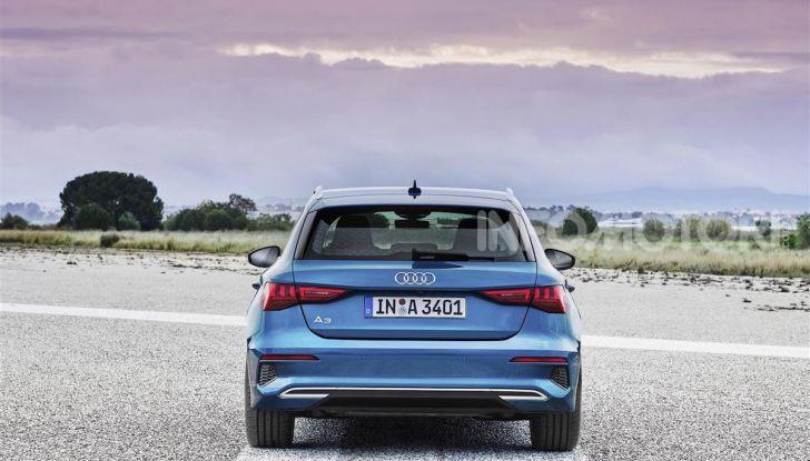 Audi A3 Sportback MY 2020: la compatta tedesca si rinnova ancora - Foto 8 di 8