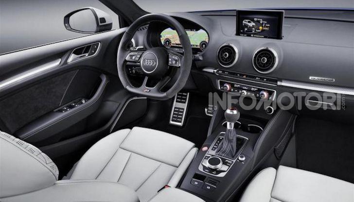 Audi RS3 Sportback 25 yeaRS, versione speciale per i 25 anni di RS - Foto 1 di 4