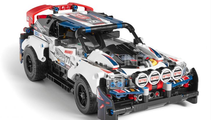 Auto da Rally Top Gear LEGO Technic telecomandata, 463 pezzi e tante funzioni - Foto 1 di 8