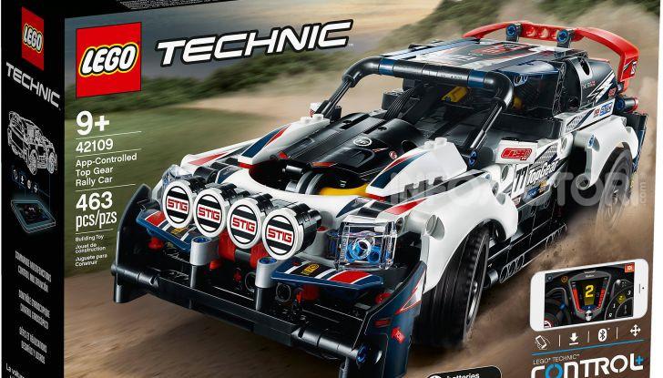 Auto da Rally Top Gear LEGO Technic telecomandata, 463 pezzi e tante funzioni - Foto 2 di 8