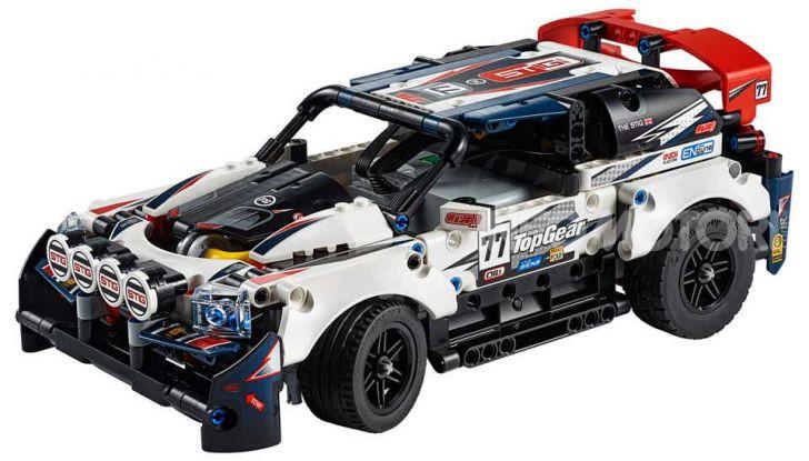 Auto da Rally Top Gear LEGO Technic telecomandata, 463 pezzi e tante funzioni - Foto 5 di 8