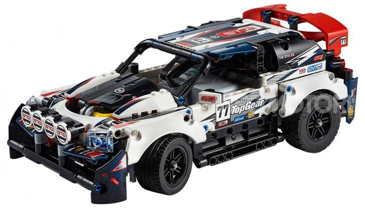 Auto da Rally Top Gear LEGO Technic telecomandata, 463 pezzi e tante funzioni - Foto 8 di 8