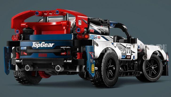 Auto da Rally Top Gear LEGO Technic telecomandata, 463 pezzi e tante funzioni - Foto 3 di 8