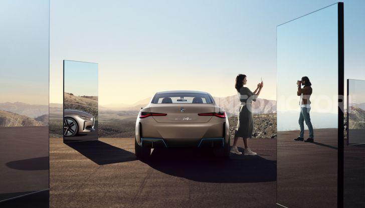 BMW Concept i4: la prima gran coupé 100% elettrica del brand tedesco - Foto 1 di 16
