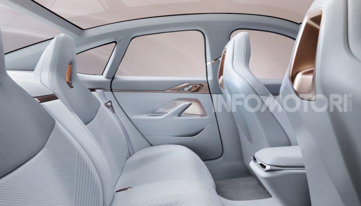 BMW Concept i4: la prima gran coupé 100% elettrica del brand tedesco - Foto 16 di 16