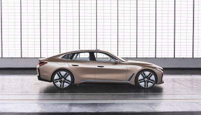 BMW Concept i4: la prima gran coupé 100% elettrica del brand tedesco