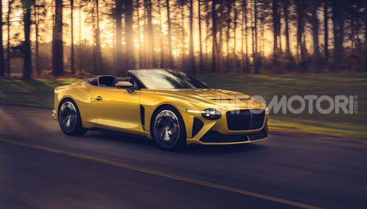 Bentley Mulliner Bacalar: una super car di lusso per pochissimi - Foto 1 di 24