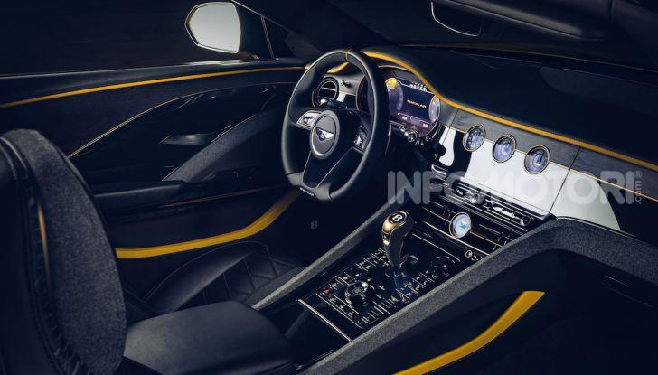 Bentley Mulliner Bacalar: una super car di lusso per pochissimi - Foto 12 di 24