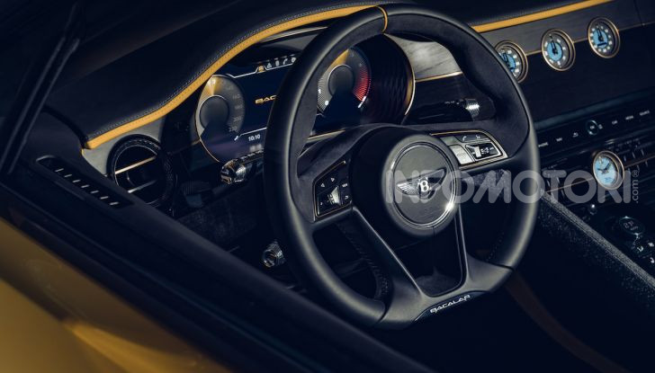 Bentley Mulliner Bacalar: una super car di lusso per pochissimi - Foto 15 di 24