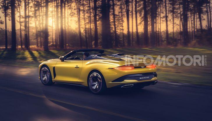 Bentley Mulliner Bacalar: una super car di lusso per pochissimi - Foto 2 di 24