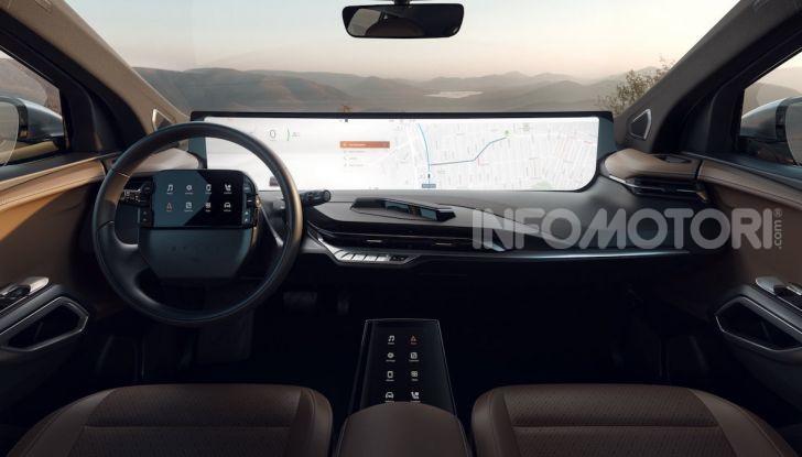 Byton M-Byte: il nuovo SUV elettrico cinese in arrivo nel 2021 - Foto 3 di 7