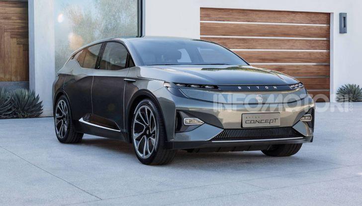 Byton M-Byte: il nuovo SUV elettrico cinese in arrivo nel 2021 - Foto 4 di 7
