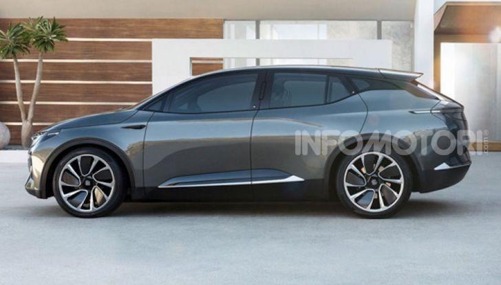 Byton M-Byte: il nuovo SUV elettrico cinese in arrivo nel 2021 - Foto 5 di 7