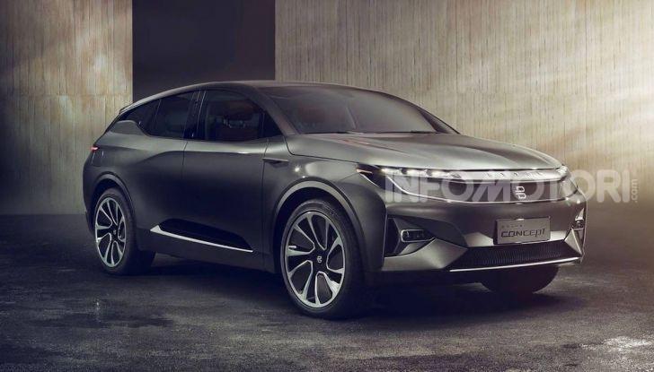 Byton M-Byte: il nuovo SUV elettrico cinese in arrivo nel 2021 - Foto 6 di 7