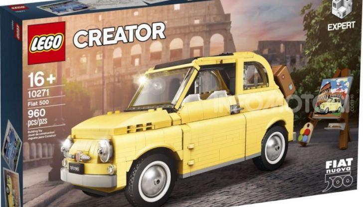 Fiat 500 LEGO Creator Expert, 960 pezzi per la citycar torinese - Foto 1 di 4