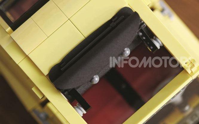 Fiat 500 LEGO Creator Expert, 960 pezzi per la citycar torinese - Foto 3 di 4